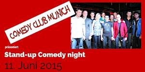 Comedy Club Munich - Stand-up Comedy Night