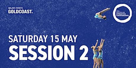 Day 3: Session 2 - 2021 Australian Gymnastics Championships tickets