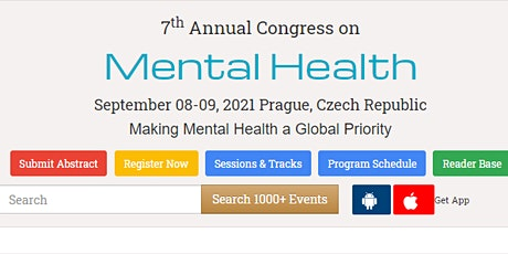7th Annual Congress on Mental Health tickets