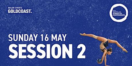 Day 4: Session 2 - 2021 Australian Gymnastics Championships tickets