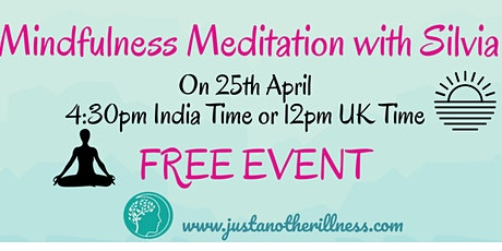 Mindfulness Meditation with Silvia tickets