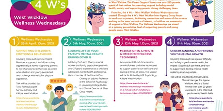 Wellness Wednesday -Supporting Children's Emotions & Behaviour tickets