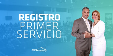 Primer Servicio 09:00 | Domingo 25 de Abril 2021 tickets