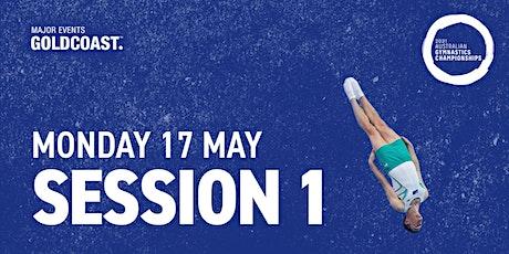 Day 5: Session 1 - 2021 Australian Gymnastics Championships tickets