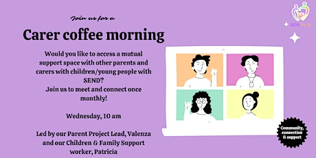 Parent Coffee Morning -  5th May tickets