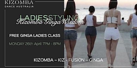 FREE Ladies Ginga Class - Angolan Dance tickets