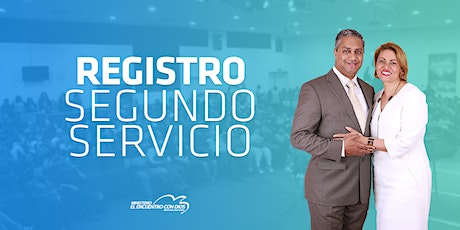 Segundo Servicio 11:30 | Domingo 25 de Abril 2021 tickets