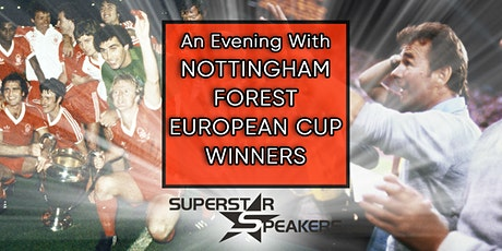 Nottingham Forest 79/80 European Cup Winners Teams 40th Anniversary event tickets