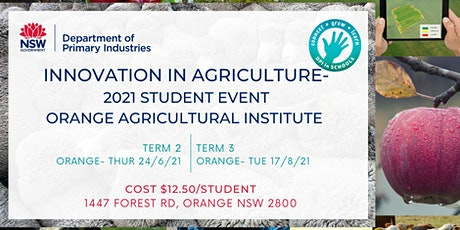 Innovation in Agriculture- ORANGE AGRICULTURAL INSTITUTE tickets