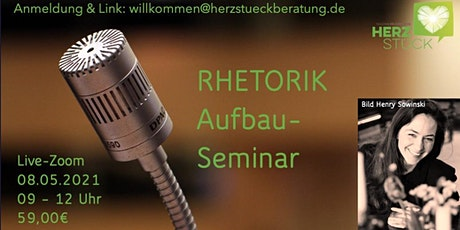 Authentische Rhetorik - Aufbau-Seminar Tickets