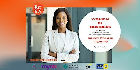 Women In Business Q&A tickets