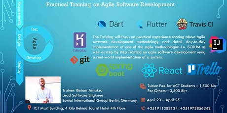 Practical Training on Agile Software Development tickets
