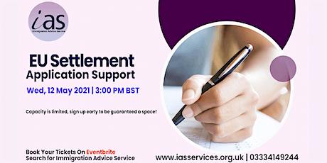 EU Settlement – Application Support Webinar entradas