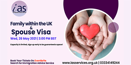 Family within the UK & Spouse Visa Webinar tickets