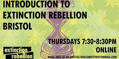 Introduction to Extinction Rebellion Bristol tickets