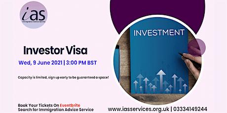 Investor Visa Webinar tickets