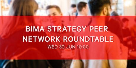 BIMA Strategy Roundtable tickets