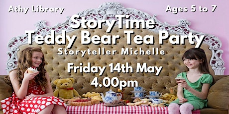 Afternoon Teddy Bear Tea Party and Storytime with Michelle! tickets