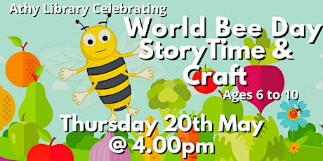 Athy Library Presents: World Bee Day Story Time and Craft tickets