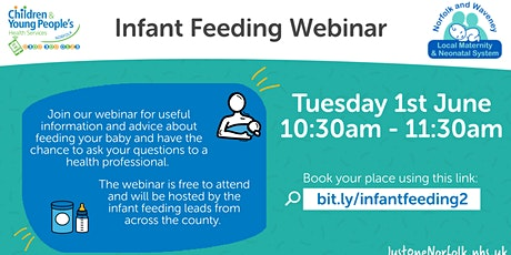 Infant Feeding  Webinar ingressos