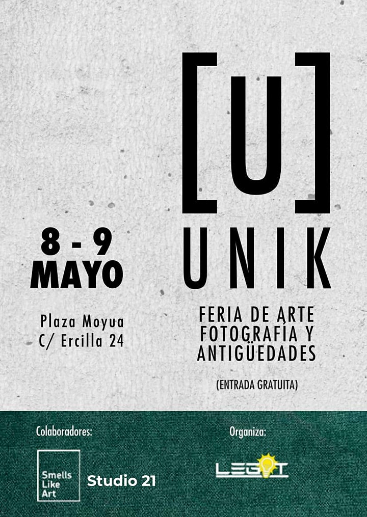 """Feria """"UNIK""""  Evento de arte fotografía y antigüedades en Bilbao image"""