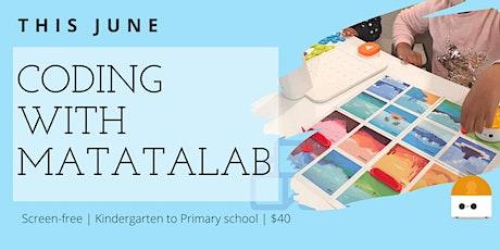 Parent Child Workshop | Coding for Kindergarten & Lower Primary | Matatalab tickets