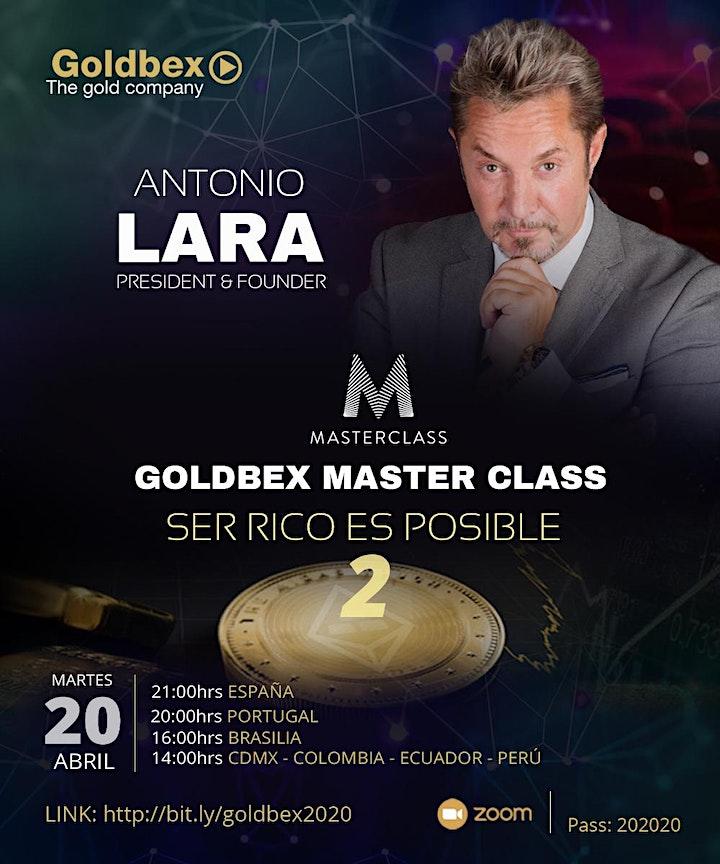 Imagen de Antonio Lara - Ser rico es posible - Master Class