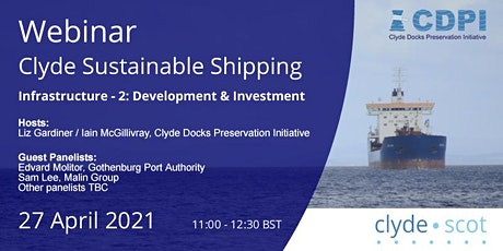 Clyde Sustainable Shipping Webinar 3 tickets