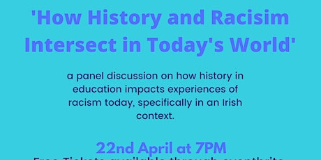 A Discussion on How Racism and History Intersect tickets