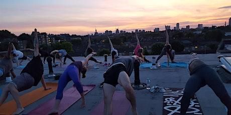 Outdoor yoga @ Clapham Common South London Mondays 6.45pm tickets