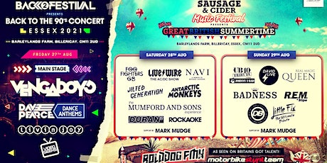 Essex Sausage & Cider Music Festival 2021 tickets