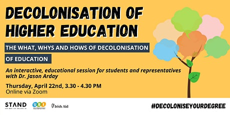 Decolonise Your Degree: Decolonisation + Higher Education tickets