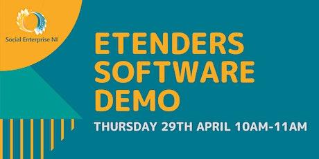 Social Enterprise NI - CPD ETenders Software Demo Workshop tickets