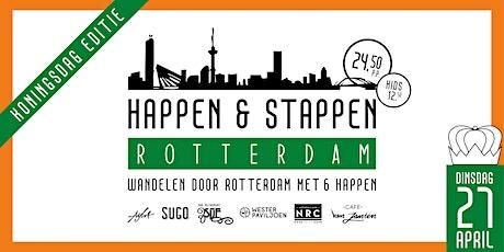 KONINGSDAG EDITIE - Happen & Stappen Rotterdam tickets