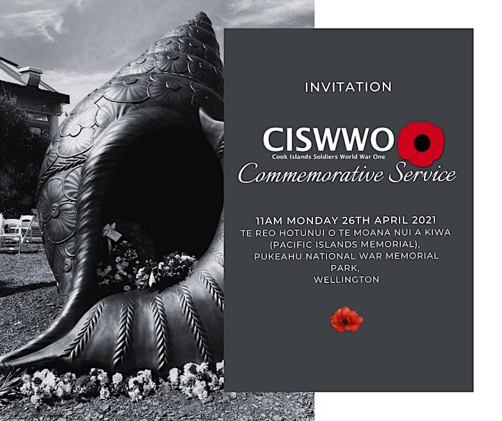 CISWWO Commemorative Service image