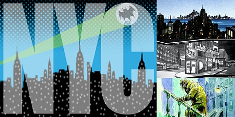 'NYC in Comics: A History of Comic Art's Ultimate Backdrop' Webinar tickets