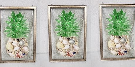 Sea Glass Pineapple  Resin Frame Workshop tickets