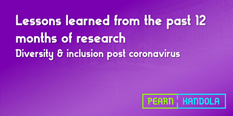 Diversity & inclusion post coronavirus tickets