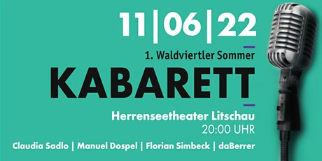 1. Waldviertler Sommerkabarett Tickets