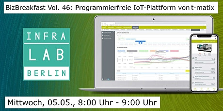 BizBreakfast Vol. 46: IoT-Plattform mit t-Matix tickets