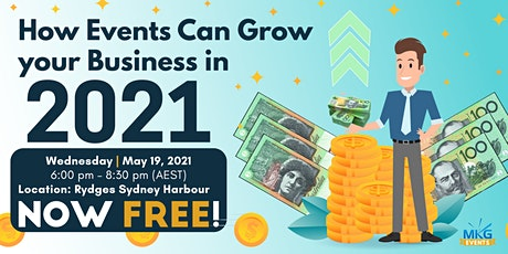 How Events Can Grow your Business in 2021 tickets