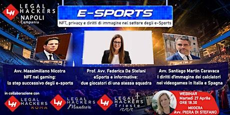 NFT, privacy e diritti di immagine nel settore degli e-Sports. biglietti