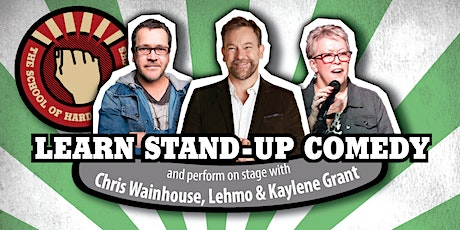 Learn stand-up comedy in Melbourne this May with Lehmo tickets