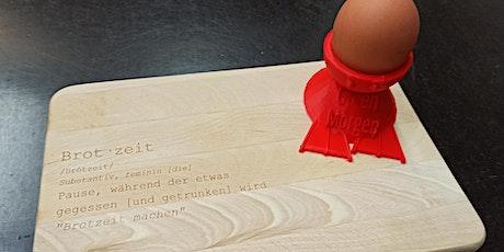 FabLabKids: Brotzeit-Set - ganz nach Deinem Geschmack (8 - 15 J.) Tickets