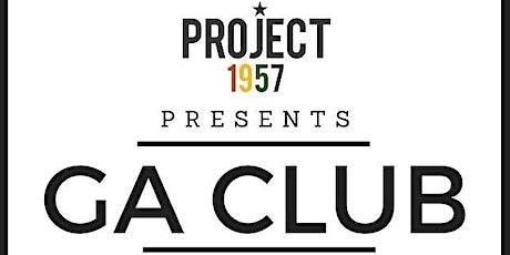 PROJECT 1957: GA CLUB tickets