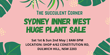 Sydney Inner West HUGE PLANT SALE tickets