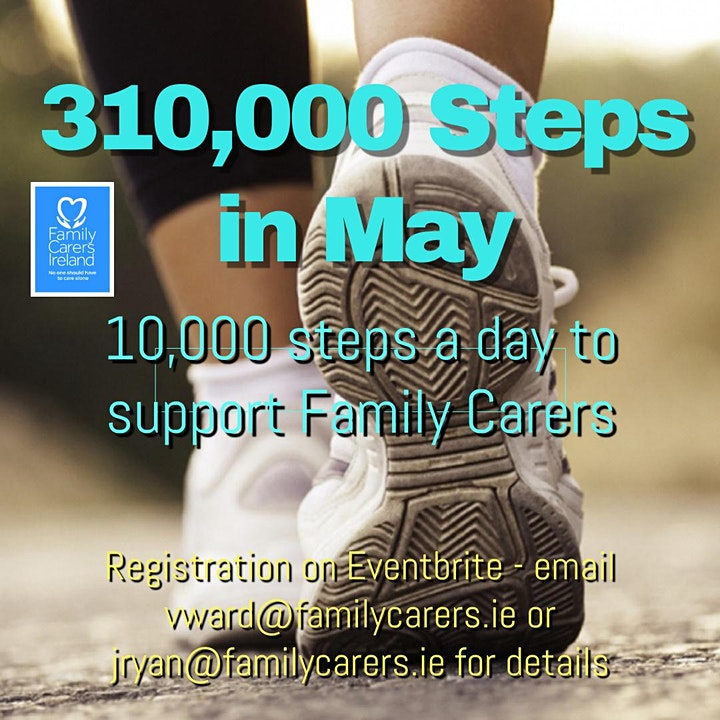 310,000 Steps in May for Family Carers image