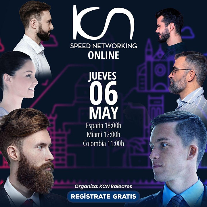 Imagen de KCN Baleares Speed Networking Online 6May