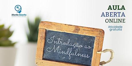 Introdução ao Mindfulness com Dr. Marcelo Demarzo ingressos
