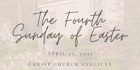 Christ Church Anglican April 25 Services tickets
